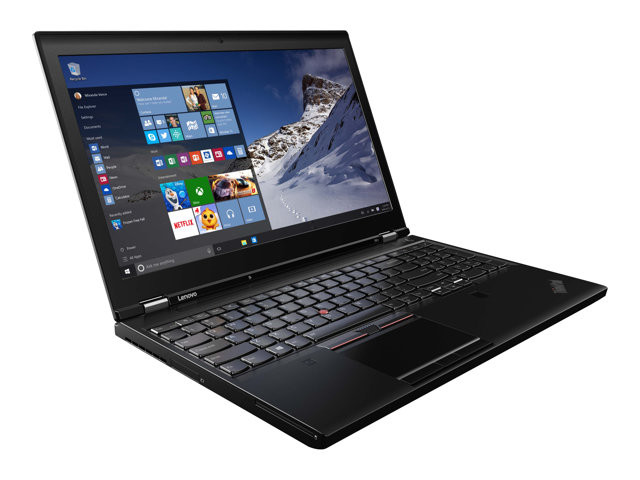 Lenovo : P51 INTEL CORE I7-7820HQ 2X8GB 512GB 15.6IN NOODD W10P (ci7-g7)