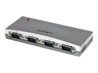 Startech : 4 PORT USB BUS POWERED TO RS232 SERIAL DB9 CONVERTER ADAPTER HUB
