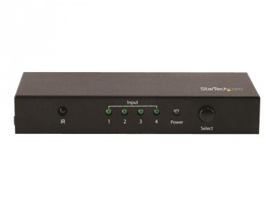 Startech : 4X1 HDMI VIDEO SWITCH - 4K60 4-PORT HDMI SWITCHER - 4K 60 HZ