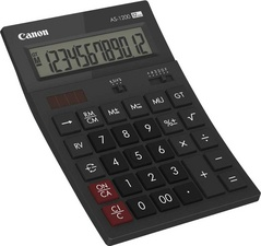 Canon Calculatrice de bureau AS-1200, alimentation solaire