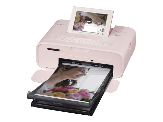 Canon : SELPHY CP1300 PINK PHOTOPRINTER