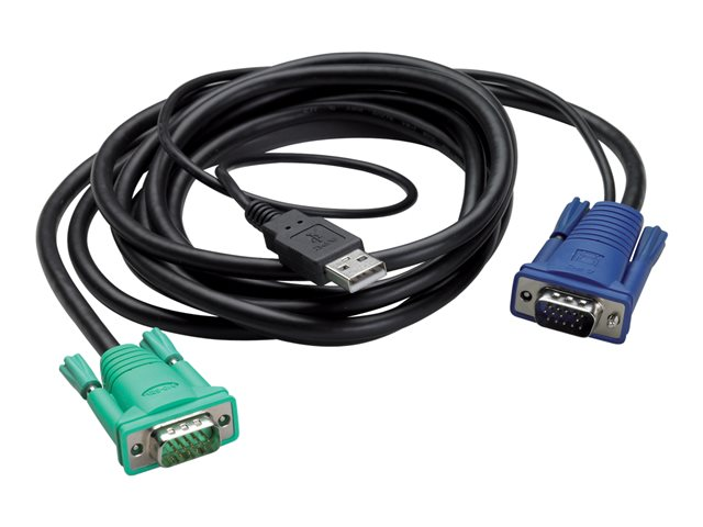APC : INTEGRATED LCD KVM USB cable - 12FT (3M)