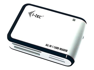 I-Tec : I-TEC USB 2.0 card READER WHITE ALL ONE
