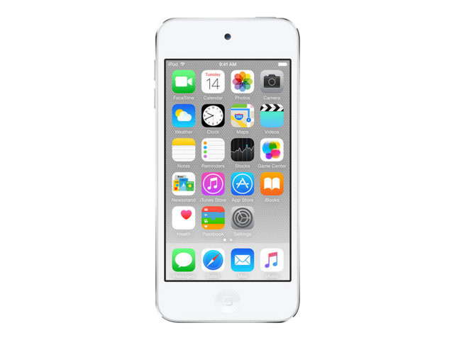Apple : IPOD TOUCH 128GB WHITE & SILVER fr