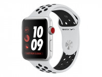 Apple : APPLE WATCH NIKE+ GPS+CELL 42MM SLV ALUM CASE+PURE PLAT/BL (ios)