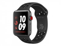 Apple : APPLE WATCH NIKE+ GPS+CELL 42MM SPGREY ALUM CASE+ANTHR/BL (ios)