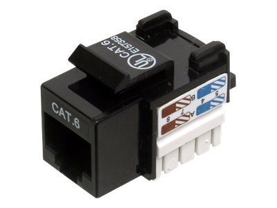 Assmann : CAT 6 KEYSTONE JACK UNSHIELDED RJ45 TO LSAACK