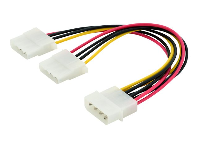 Assmann : INT. Y-POWER SUPPLY cable 0.20M IDE - 2X IDE CONNECTORUL