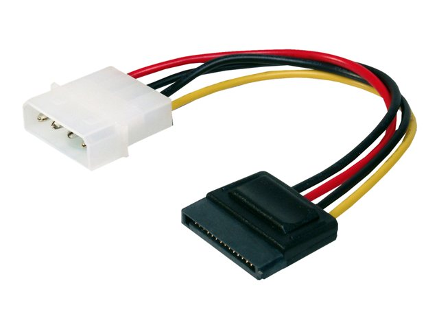 Assmann : INT. POWER SUPPLY cable 0.15M IDE - SATA 15PIN CONNECTOR UL