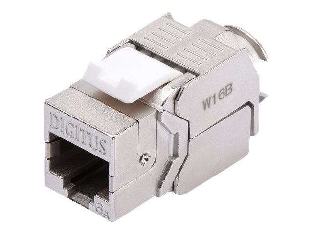 Assmann : DIGITUS KEYSTONE module SHIELDED CAT 6A TOOLFREE