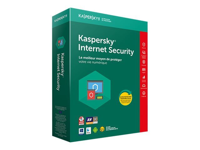 Kaspersky : KASPERSKY INTERNET SECURIT 2018 3U 1Y UPDATE