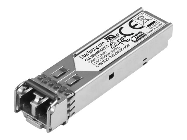 Startech : SFP A FIBRE OPTIQUE GIGABIT - CISCO GLC-SX-SM-RGD - 550 M