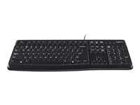 Logitech : KEYBOARD K120 pour business US VERSION US