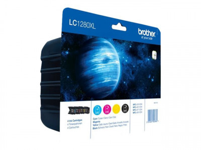 Brother : LC-1280XL VALUE BLISTER CONTAINS 1X BK C M Y