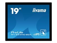 Iiyama : 19IN LED 1280X1024 5:4 5MS TF1934MC-B2X 1K:1 USB/VGA/DVI-D