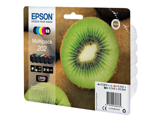 Epson : MULTIpack 5-COLOURS 202 CLARIA PREMIUM INK