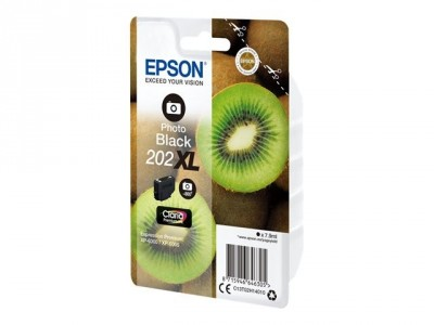 Epson : SINGLEpack Photo BLACK 202XL CLARIA PREMIUM INK