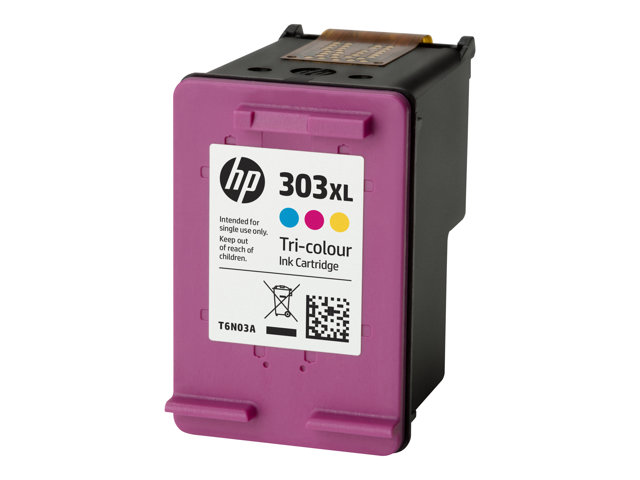 HP : 303XL HIGH YIELD TRI-COLOR cartouche encre