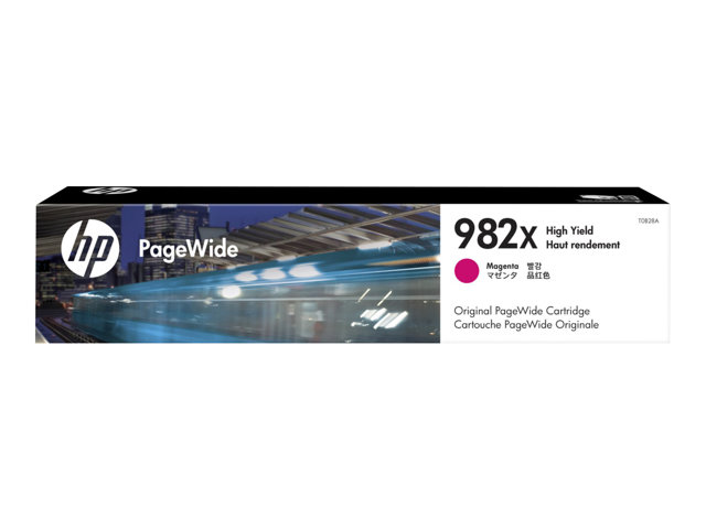 HP : 982X HIGH YIELD MAGENTA PAGEWIDE cartouche