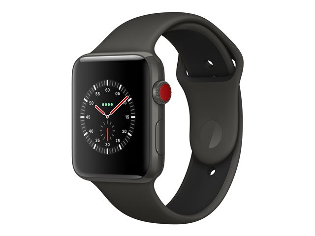Apple : APPLE WATCH EDIT GPS+CELL 42MM GREY CERM CASE+GREY/BL SPBAND (ios)