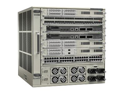 Cisco : CHASSIS+FAN TRAY+ SUP2T+2XPOWER SUPPLY- IP SERVICES only