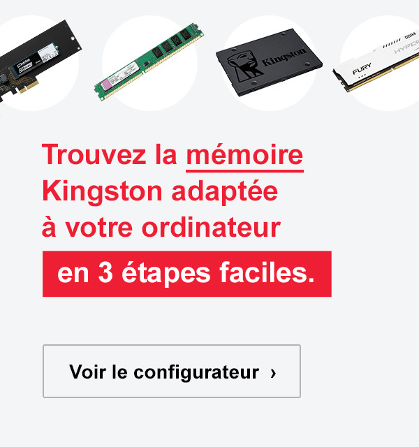► CONFIGURATEUR KINGSTON