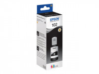 Epson : 102 ECOTANK BLACK INK BOTTLE 1 X 127ML