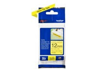 Brother : TZE-631 LAMINATED tape 12MM 8M BLACK ON YELLOW