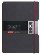 herlitz Carnet de notes my.book flex, A6, PU, taupe