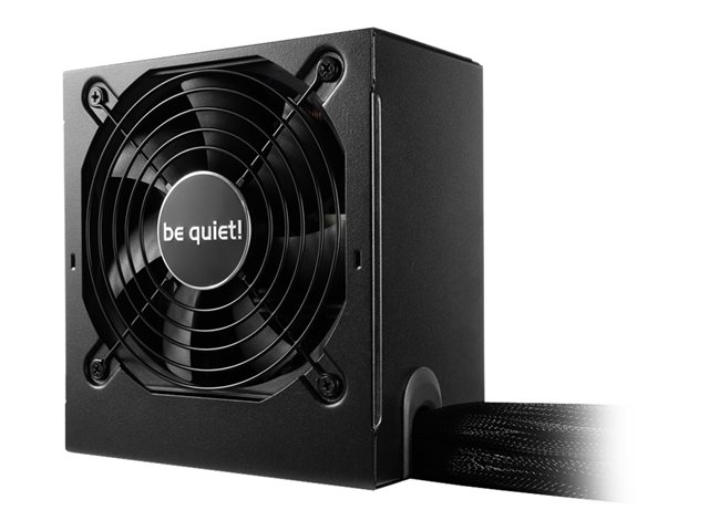 Be Quiet : SYSTEM POWER 9 600W 80PLUS BRONZE POWER SUPPLY