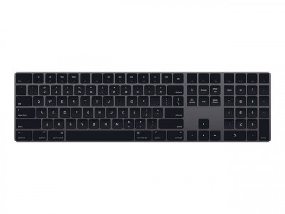 Apple : MAGIC KEYBOARD NUMERIC KEYPAD FRENCH - SPACE GREY fr