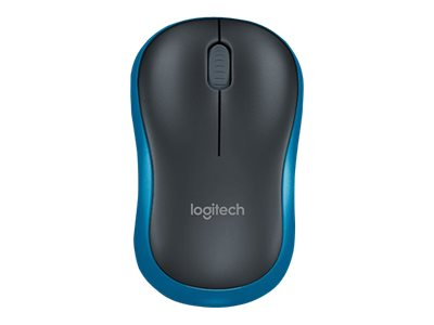 Logitech : WIRELESS MOUSE M185 BLUE .