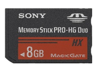 Sony : MS PRO-HG DUO HIGH SPEED 8GB .