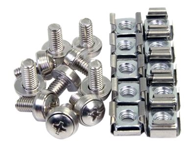 Startech : 100 PKG M6 MOUNTING SCREWS et CAGE NUTS