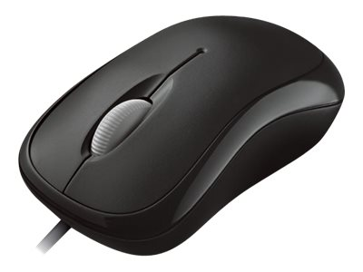 Microsoft : BASIC OPT MOUSE BLACK pour business