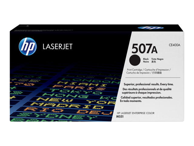HP : TONER cartridge 507A BLACK LaserJet