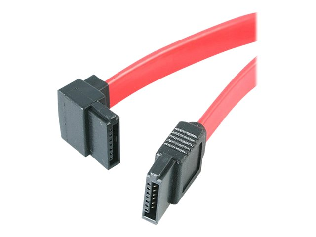 Startech : 18IN SATA TO LEFT ANGLE SATA SERIAL ATA cable