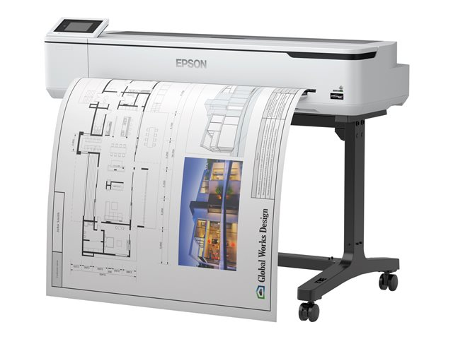Epson SURECOLOR SC-T5100 - Imprimante grand format technique A0 (avec stand)