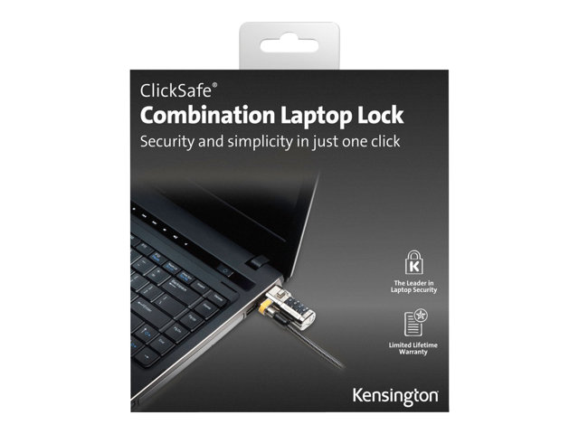 Kensington : CLICKSAFE COMBINATION LOCK CLICKSAFE COMBINATION LOCK