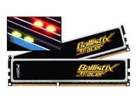 Crucial : 8GB kit (4GBX2) DDR3 1600 MT/S CL8 1.5V BALLISTIX TACTICAL TRACER