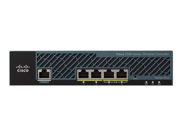 Cisco : 2504 WIRELESS CONTROLLER avec 25 AP LICENSES