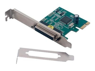 MCL Samar : CARTE PCI EXPRESS PORT PARALLEL 1 DB25 FEMALE (NORMAL + LP) fr