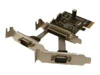 MCL Samar : 2 SERIAL & 1 PARALLEL PORT PCI fr