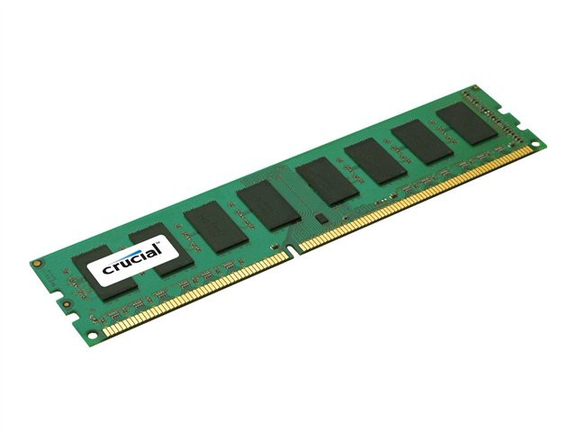 Crucial : 2GB DDR2 1066MHZ PC2-8500 CL7 UNBUFFERED UDIMM 240PIN
