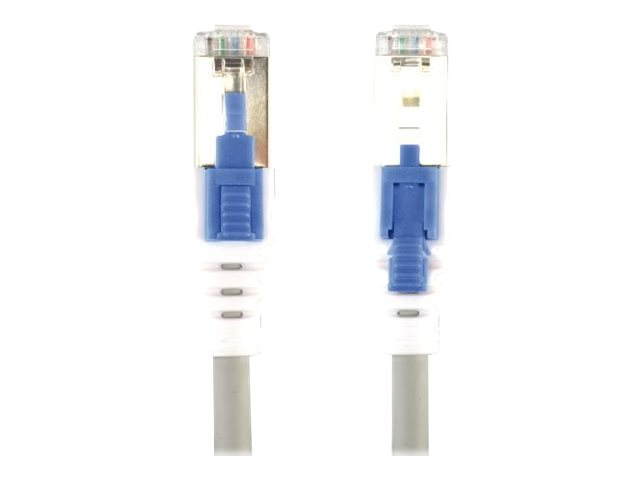 MCL Samar : PATCH cable LOCKABLE 1M GREY CAT6A S pour TP LSZH
