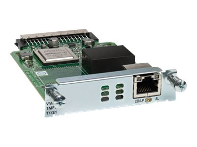 Cisco : 1-PORT 3RD GEN MULTIFLEX TRUNK VOICE avec AN INT. card - T1/E1