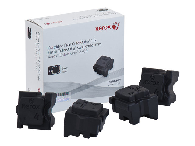 Xerox : SOLID INK BLACK (4 STICKS) pour 8870 YIELD 9 000 PAGE
