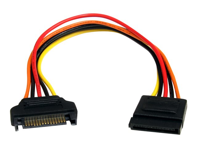 Startech : 8IN 15 PIN SATA POWER extension cable