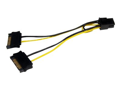 Startech : 6IN SATA POWER TO 6 PIN PCIE VIDEO card POWER cable ADAPTER