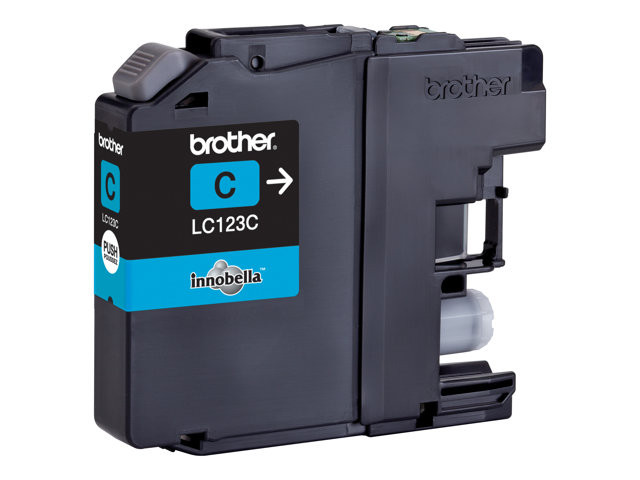 Brother : Cartouche encre LC-123CBP CYAN 600 PAGES